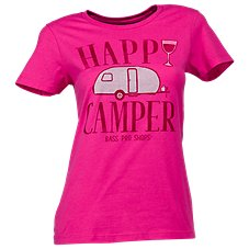 Bass Pro Shops Happy Camper T-Shirt for Ladies