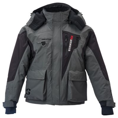 StrikerIce Predator Series Jacket GrayBlack XLT