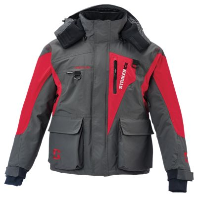StrikerIce Predator Series Jacket GrayRed M