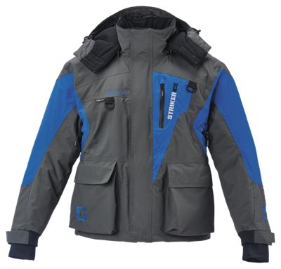 StrikerIce Predator Series Jacket GrayBlue M