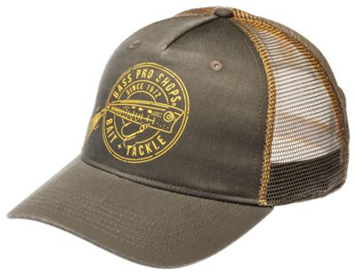 Bass Pro Shops Bait and Tackle Mesh Back Cap