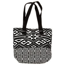 Quagga 2-Panel Tote Bag for Ladies