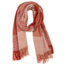 Quagga Ochre Boucle Scarf for Ladies