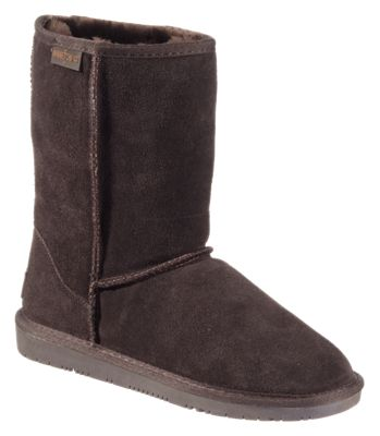 Minnetonka Moccasin Olympia Short Boots for Ladies - Chocolate - 6M