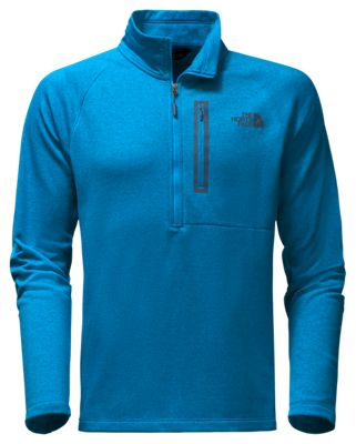 The North Face Canyonlands ½ Zip Pullover for Men Brilliant Blue Heather M 2b57a79e4