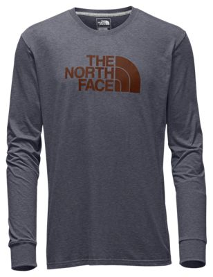 c7f5be375 The North Face Half Dome Long Sleeve T Shirt for Men TNF Medium Grey ...