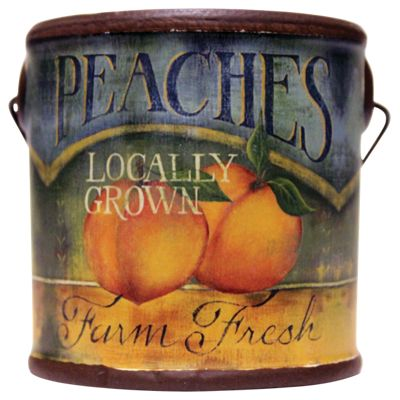 A Cheerful Giver Peaches Farm Fresh Scented Candle - 6 oz.