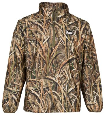 5b5cd801b0589 Banded Windproof Pullover for Men Mossy Oak Shadow Grass Blades M