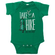 Bass Pro Shops Take a Hike Bodysuit for Babies