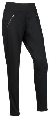 Natural Reflections Pull-On Zipper Pocket Pants for Ladies - Anthracite - 18