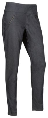 Natural Reflections Pull-On Zipper Pocket Pants for Ladies - Grey - 18