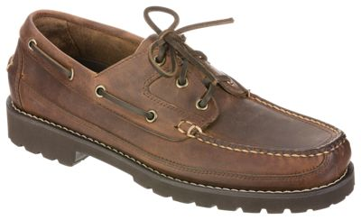 Bob Timberlake Canoe 3-Eye Boat Shoes for Men by