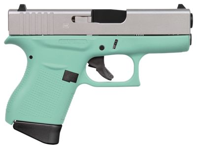 Glock 43 Semi Auto Pistol In Robin S Egg Blue Bass Pro Shops