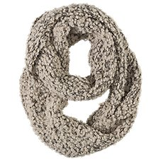 Quagga Cloudy Boucle Infinity Scarf for Ladies