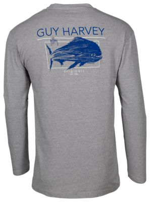 b1c916fe ... name: 'Guy Harvey Fast Mover UVX Long-Sleeve T-Shirt for Men', image:  'https://basspro.scene7.com/is/image/BassPro/2426070_100024546_is', ...