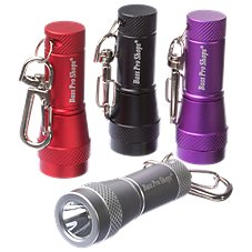 Bass Pro Shops 4-Pack LED Keychain Flashlights