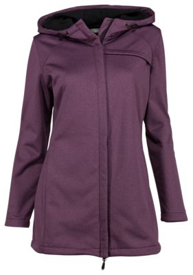 7030e1614cc Natural Reflections Hooded Softshell Jacket for Ladies Imperial Heather M