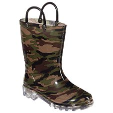 Western Chief Light Up Waterproof Rainboots for Toddlers or Kids