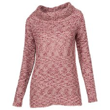 Bob Timberlake Boucle Cowl Neck Sweater for Ladies