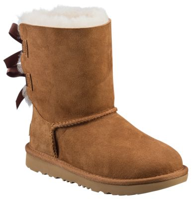 a074370cfcd UGG Bailey Bow II Boots for Girls Chestnut 2 Kids