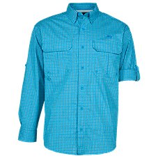 World Wide Sportsman Offshore Plaid Long-Sleeve Shirt for Men