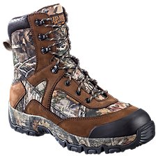 RedHead Trophy Peak Insulated Waterproof Side Zip Hunting Boots for Men