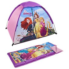 Exxel Outdoors Disney Princesses Camping Set for Kids