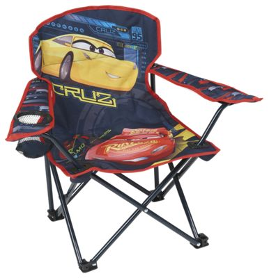 Fantastic Exxel Outdoors Disney Cars 3 Folding Armchair For Kids Alphanode Cool Chair Designs And Ideas Alphanodeonline