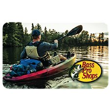 Bass Pro Shops Kayak Gift Card Image