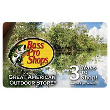 Bass Pro Shops Pond Gift Card Image
