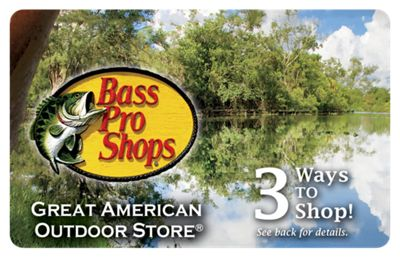 Bass Pro Shops Pond Gift Card - $500