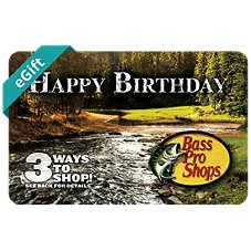 Bass Pro Shops Happy Birthday eGift Card
