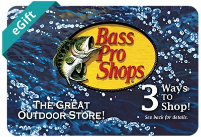 Bass Pro Shops Any Occasion eGift Card - $75