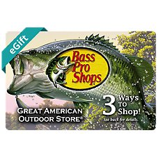 Bass Pro Shops Fishing eGift Card