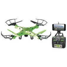 World Tech Toys Striker Glow-in-the-Dark Live Feed Remote Control Camera Spy Drone