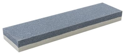 Smith's Dual Grit Combination Sharpening Stone - 8 - Yellow/Gray