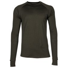Kryvo Wool Midweight Base Layer Top for Men
