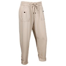 Natural Reflections Rayon Twill Drapey Pants for Ladies
