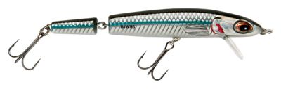 Bomber Jointed Wake Minnow - Mullet - 5-3/8''