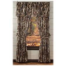 Bass Pro Shops True Timber DRT Rod Pocket Drapes or Valance