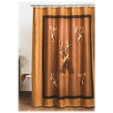King of Bucks Collection Shower Curtain