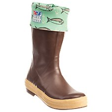Xtratuf X Salmon Sisters Octopus Print Legacy Rubber Boots for Ladies