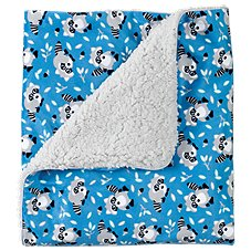 Bass Pro Shops Raccoon Print Baby Blanket