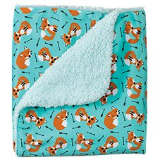 Bass Pro Shops Fox Print Baby Blanket