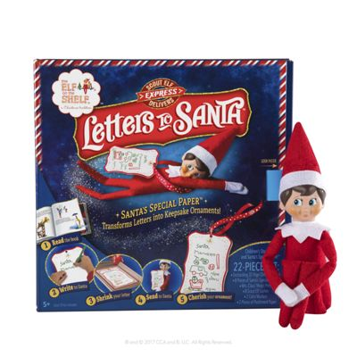 Scout Elf on the Shelf Express Delivers Letters to Santa Book for Kids