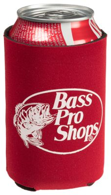 Bass Pro Shops Logo Can Cooler - Red