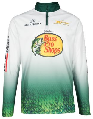 Bass pro shops logo fishing jersey for men bass pro shops for Fishing stores nj