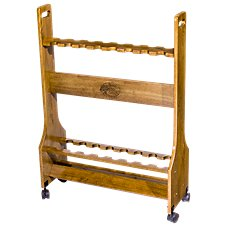Bass Pro Shops Rolling Rod Rack