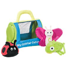 Bass Pro Shops My Critter Catcher Interactive Baby Talk Plush Playset for Babies