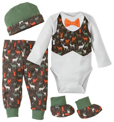 Bass Pro Shops 4 Piece Baby Clothes Box Set Bass Pro Shops